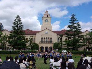 関西学院大学オープンキャンパス風景