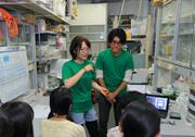 東京理科大学オープンキャンパス研究室見学3