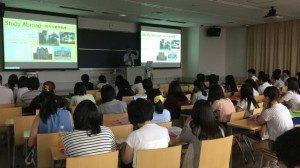 日本大学オープンキャンパス学部説明