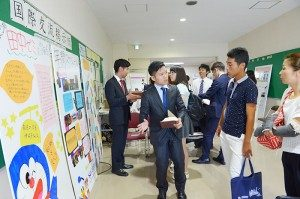 神奈川大学オープンキャンパス学部説明