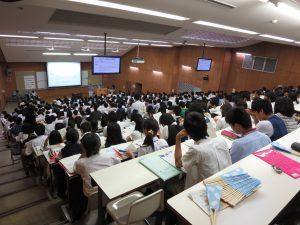 千葉大学授業風景